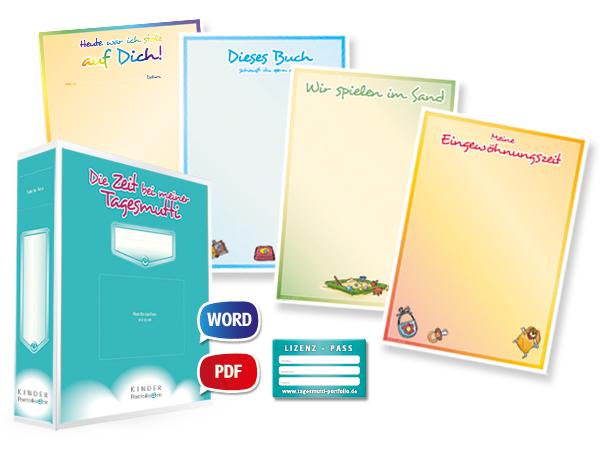 Tagesmutti-Portfolio Lizenzpaket